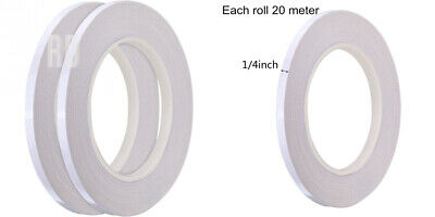 Hotop 2 Pack 1//4 Inch Quilting Sewing Tape Wash Away Tape Each 22 Yard