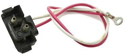 """GG Backup Lights Wire Pigtail 2 Prong Right Angle Molded Plug 10.5"""" #80782 Pair"""