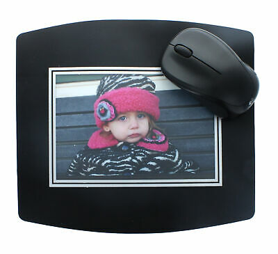 Custom Insert Photo Mouse Pad Personalized Picture Frame Customizable 4x6