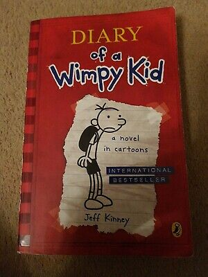Diary Of A Wimpy Kid (Book 1) by Jeff Kinney (Paperback, 2008)