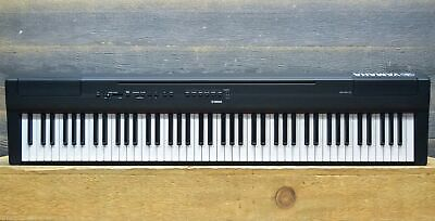 Yamaha P-125 Digital Piano 88-Key Graded Hammer Standard Black Digital Keyboard