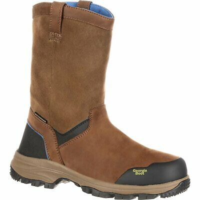 Georgia Boot Blue Collar Waterproof Work Wellington