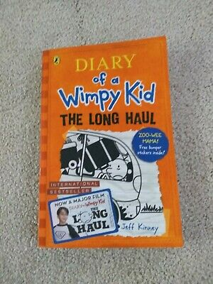 Diary of a Wimpy Kid, The Long Haul Book 9 by Jeff Kinney