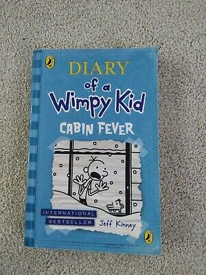 Diary of a Wimpy Kid. Cabin Fever. book 6by Jeff Kinney