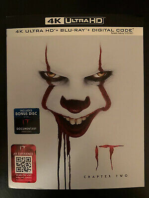 It: Chapter 2 (4K UHD/Blu-ray/Digital Copy)W/Slipcover (New/Sealed)