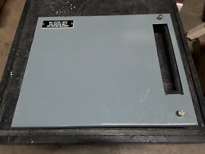 "Allen Bradley 2100 Centerline 12"" Motor Control Center Door MCC"