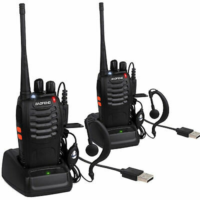 Pair Wireless Comms 2 Way Radio for Events & Theatre Stage Lighting Radio event
