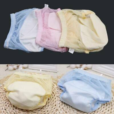 Comfortable Reusable Nappy Cloth Soft Diapers Pants Baby Breathable Underpant JI