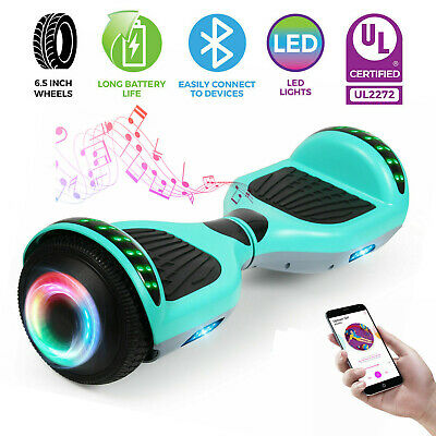 """NEW 6.5"""" Bluetooth Hoverboard Electric Self Balancing Scooter UL2272 Without Bag"""