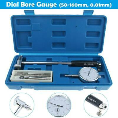 Inner Diameter Indicator METRIC DIAL BORE GAUGE 50-160MM GRADUATE 0.01 MEASURING