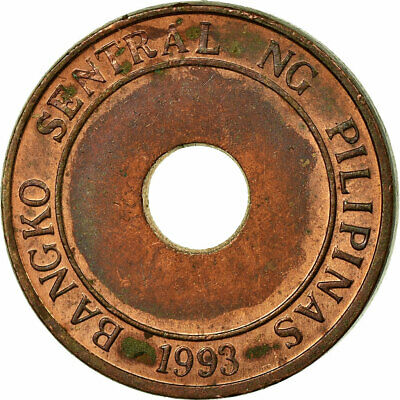 [#750103] Coin, Philippines, 5 Sentimos, 2002, EF(40-45), Copper Plated Steel
