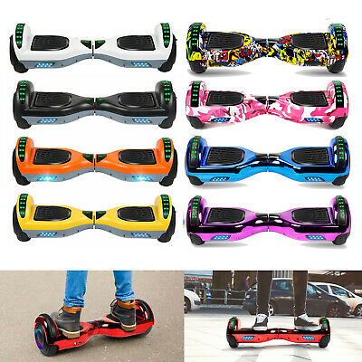 6.5'' Bluetooth Hoverboard Self Balancing Electric Scooter Free Bag 2 Wheels UL