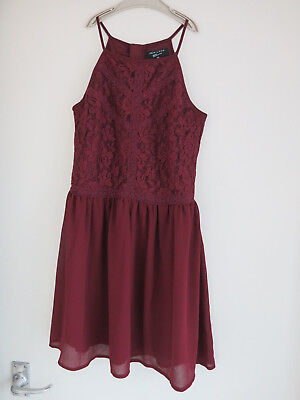 New Look 915 Generation Burgundy Dress size 12 years / 152 cm only worn once