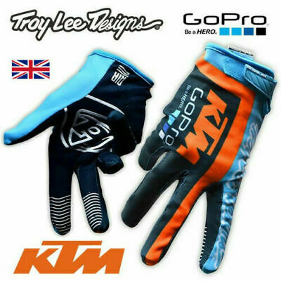 TLD, Troy Lee Design TEAM, KTM Go Pro Motocross GLOVES!!! FOX Racing Motorcycle