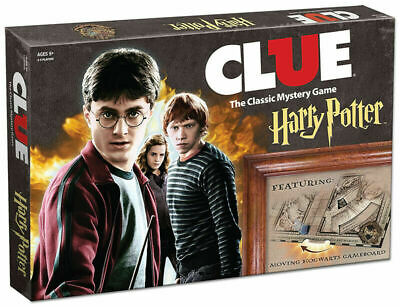 USAOPOLY Clue Harry Potter Board Game - Travel Through Hogwarts Castle to Solve
