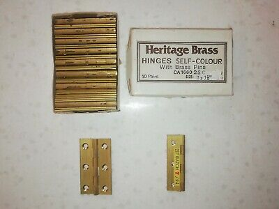 50 mm Solid Drawn Brass Hinges