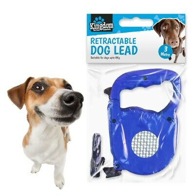 EXTENDABLE PUPPY LEAD Dog Obedience Training Lockable Reflective Safety Walking