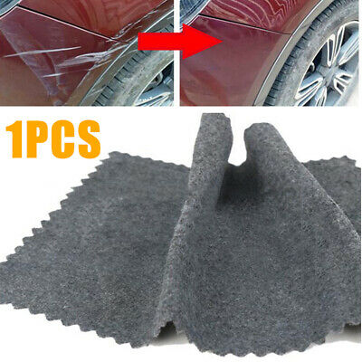 Gray Scratch Eraser Magic Car Scratch Repair Remover Cloth Surface Rag Simple UK