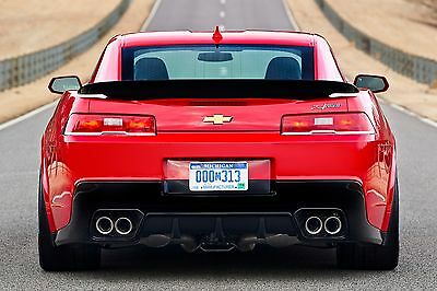 2014-2015 CHEVY CAMARO Z28 HIGH WING BLADE Spoiler PAINTED, All Colors!!