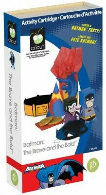 Cricut Cartridge Batman: The Brave and the Bold