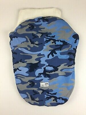 N23 Cozy Infant Carrier Cover Company Store Baby Car Seat lining sack Camo blue