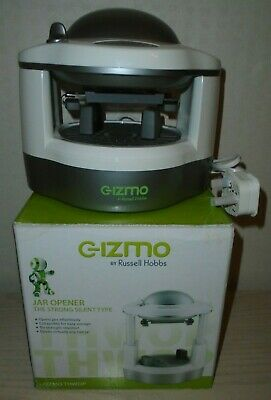 AUTOMATIC ELECTRIC JAR OPENER - GIZMO by Russell Hobbs NEW UNUSED ARTHRITIS AID