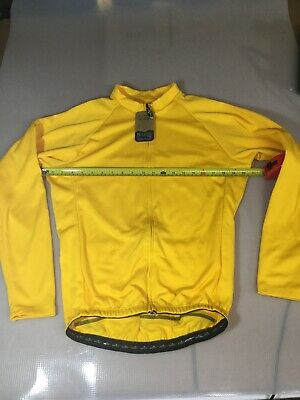 Sommerville Sports Men/'s Cycling Winter Thermal Vest Medium Yellow//Green