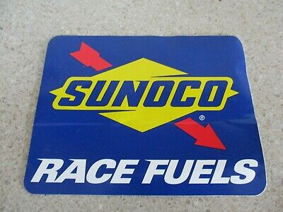 NEW 5 X 7 1//8 INCH SUNOCO RACE FUELS IRON ON PATCH FREE SHIPPING P1