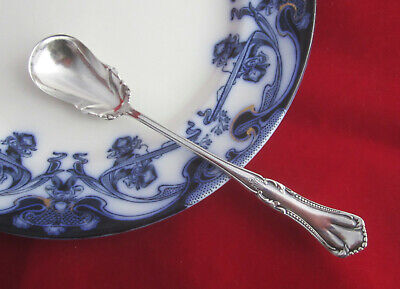 """Antique Wm A Rogers Silverplate MARCELLA CLIFTON Sm Serving Condiment Spoon 6"""""""