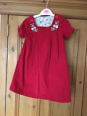 Cath Kidston Red Dress Girls Age 2-3