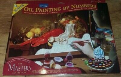 Brand New Oil Painting By Numbers Lobster Reeves Ideal Christmas Gift