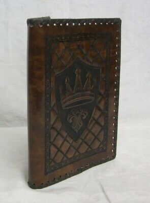 Carta's Recycled Leather Products Personal Journal Book Lot of 1