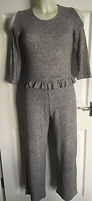 River Island Girls All In One/Jumpsuit/Trouser Suit Cut Out Shoulders Age 11-12