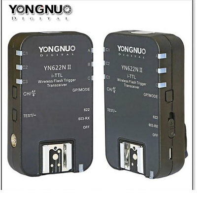 Yongnuo YN622NII YN622 YN622N TTL Wireless Flash Trigger Transceivers for Nikon