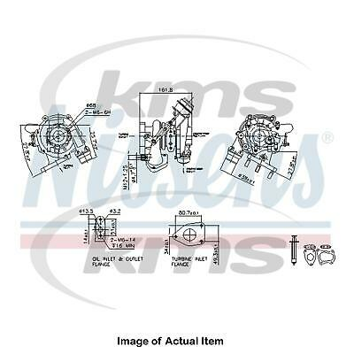 New Genuine NISSENS Turbo Charger 93233 Top Quality