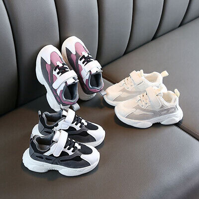 New Kids Boys Girls Sport Shoes Baby Children Casual Running Breathable Sneakers