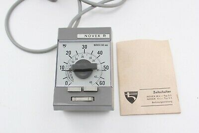 Meopta Novex R Enlarger Timer With Instructions