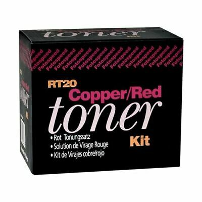 Fotospeed RT20 Red Toner Two-Part Liquid Concentrate - Adjustable Tone Strength