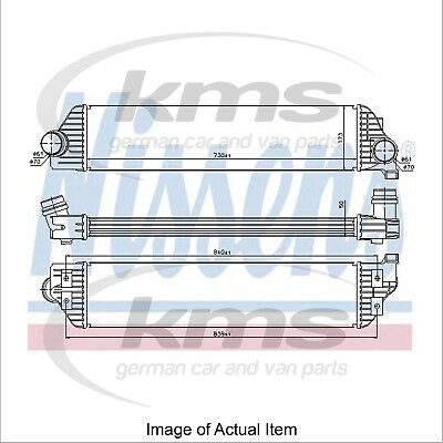 New Genuine NISSENS Turbo Charger Intercooler 96501 Top Quality
