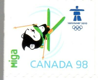 2009 OLYMPIC MASCOTS DEFINS.SINGLE FROM BKT#397,UC#2311, 98c,U.S. RATE, MNH