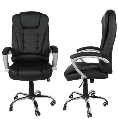 Black Executive Home Racing Gaming Office Chair Lift Swivel Computer Desk Chair