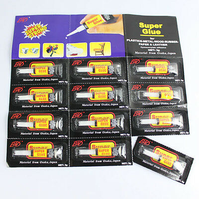 Mini 3X 502 Cyanoacrylate Super Glue Strong Adhesion Within Seconds S NT