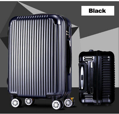 """3PCS 20""""/24""""/28"""" Travel Luggage Set Bag Business Trolley Suitcase ABS w/Lock"""