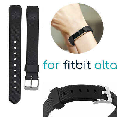 Wristband For Fitbit Alta HR Ace Secure Fitness Bracelet Strap Watch Wrist Bands