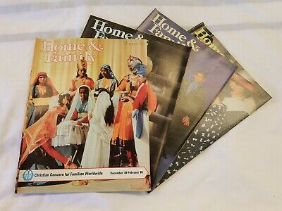 Home & Family 1985 4 Issues