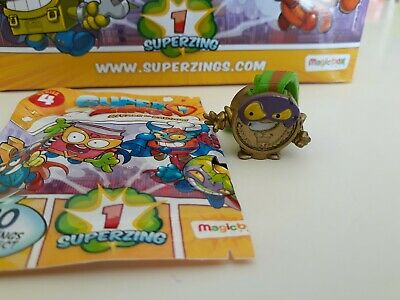Superzings Serie 4 Oro Bad Prize Medalla