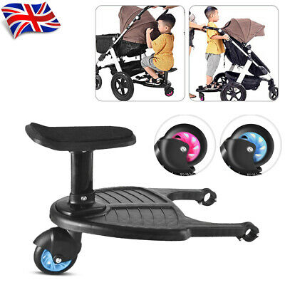 Universal Baby Jogger Travel Pram Pushchair Buggy Board Seat Connectors + Strap