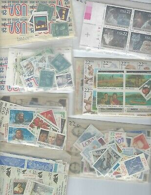 500 mint 22 cent and 200 mint 21 cent US Postage stamps Face Value $152