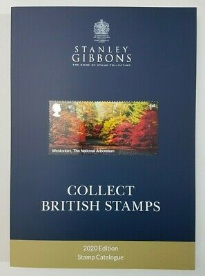 Stanley Gibbons Collect British Stamps 2020 edition. Brand new, in stock now.