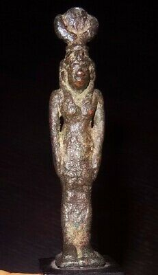 Rare Isis Bronze - Art Egyptian 1069/750 BC - Ancient Egyptian Bronze Figure
